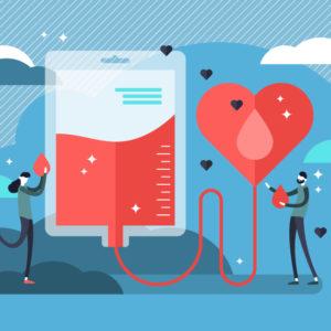 献血のイメージ写真